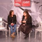Radbonus Gründerin Nora Grazzini bei der CeBIT Global Conferences
