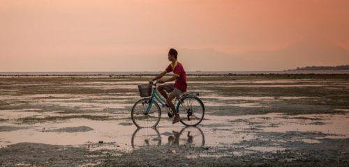 Radfahren macht glücklich