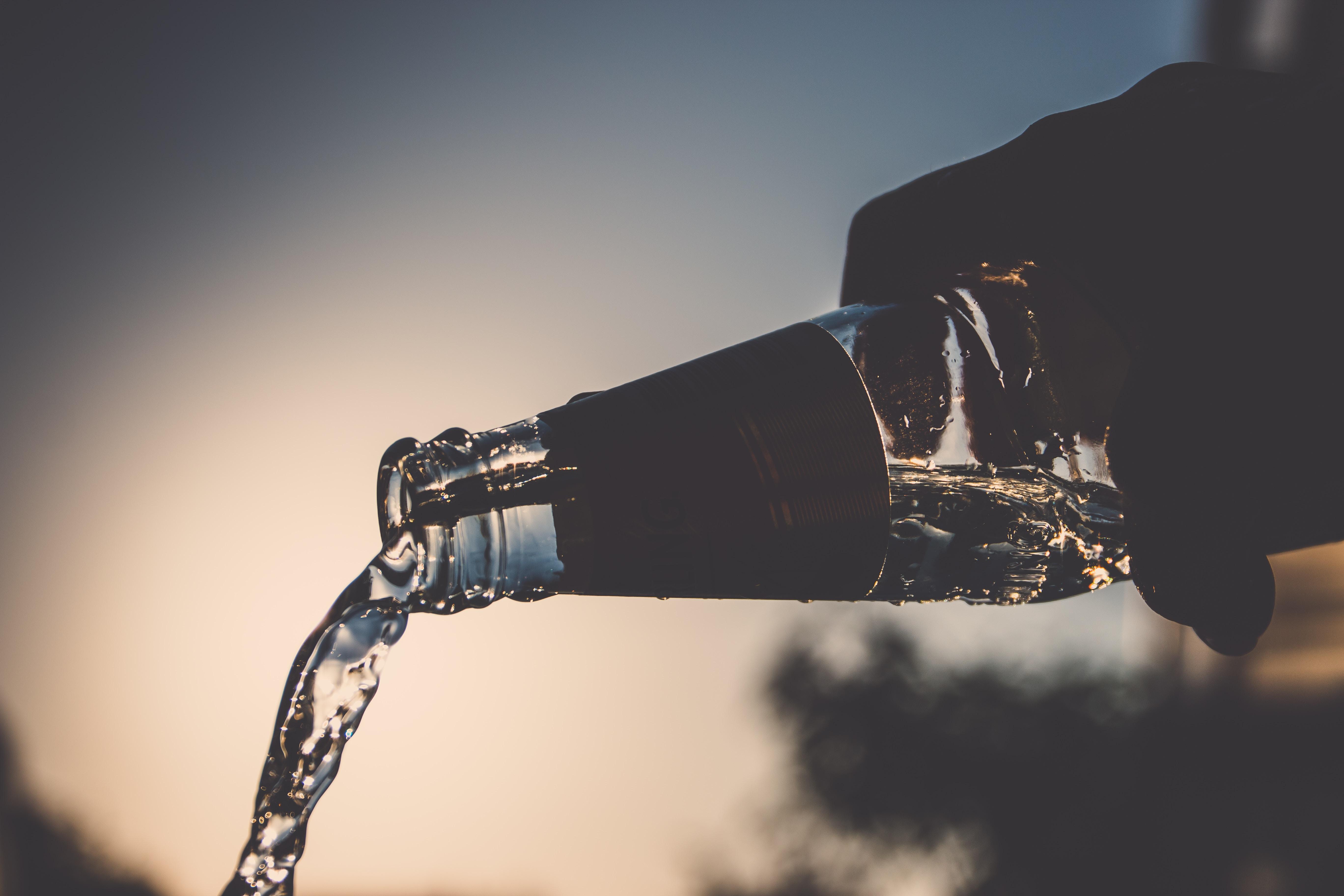 Wassertrinken