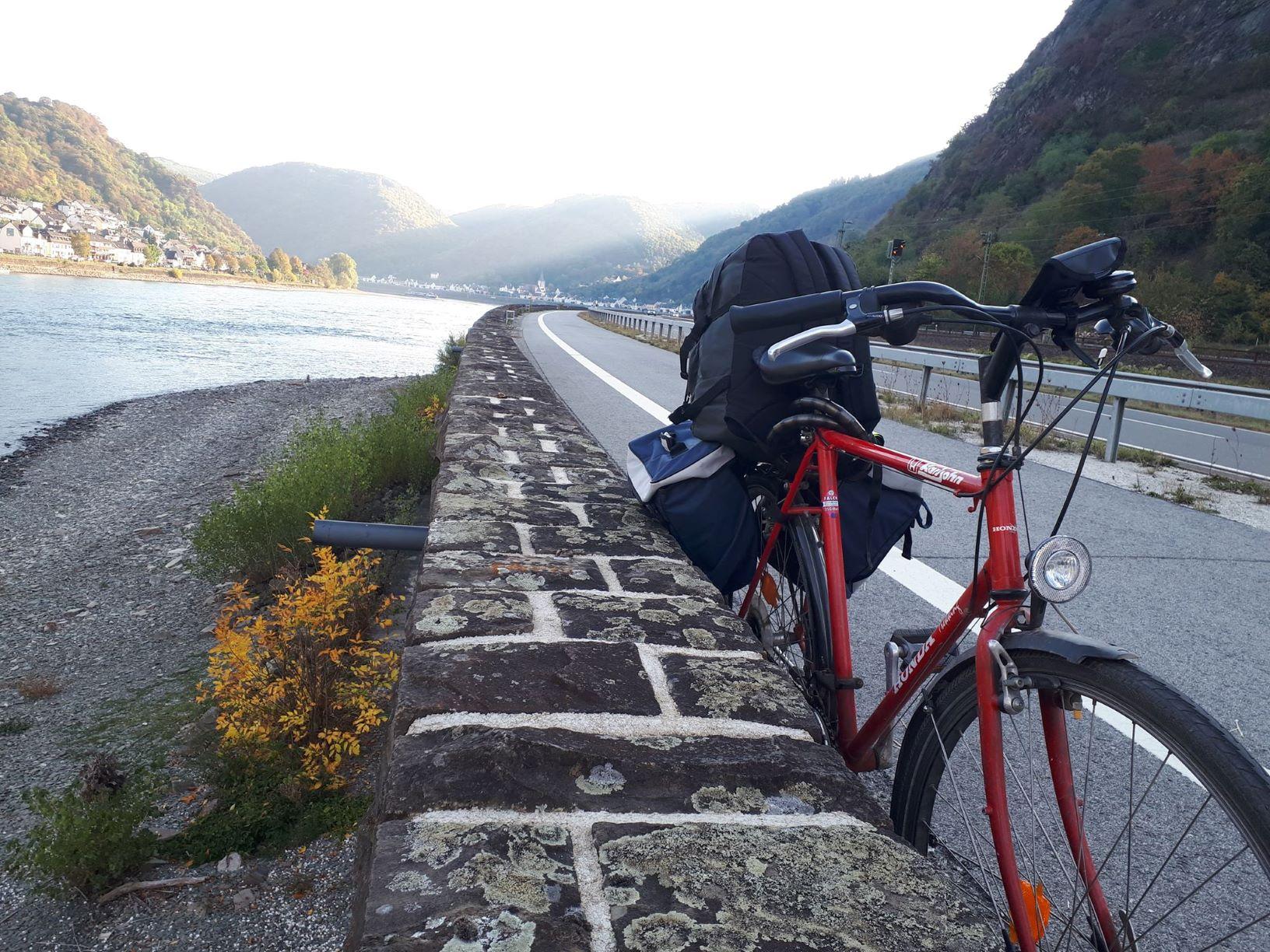 Fahrrad Rheintal