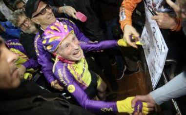 außergewöhnlicher Radfahrer Robert Marchand
