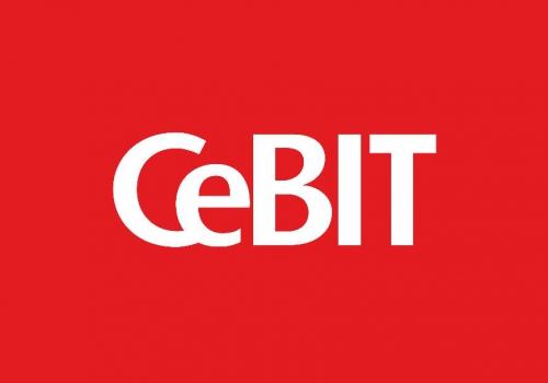 Gründerin Nora auf der CeBIT Konferenz